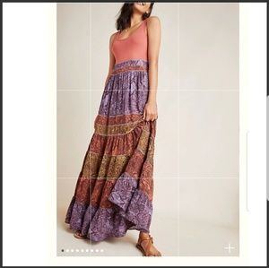 Anthropology Colima Maxi Dress